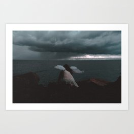 Fly and Fight Art Print