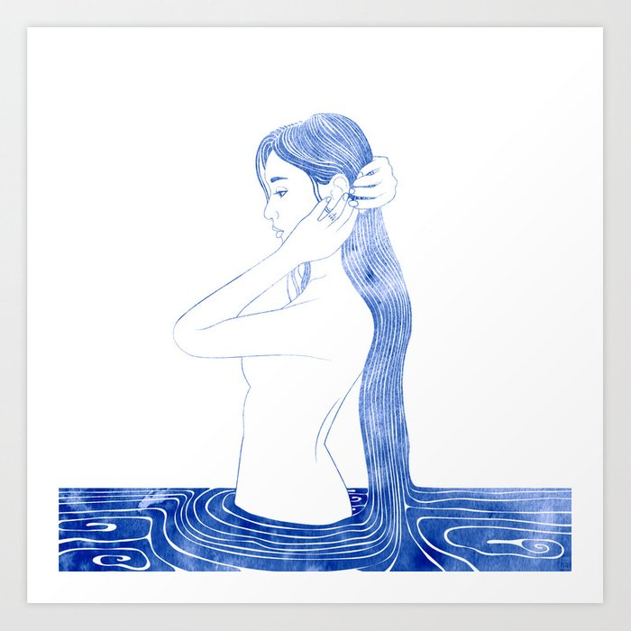 Nereid VI Art Print