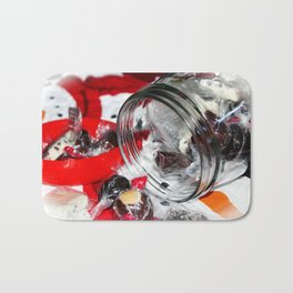 Christmas Candy Jar Bath Mat