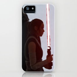 Half of the same protagonist iPhone Case