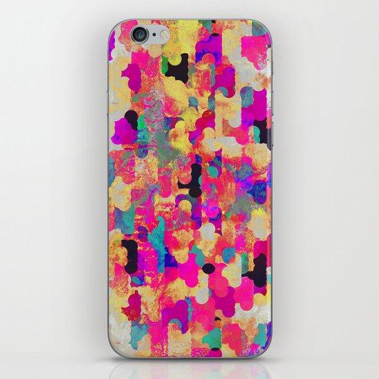 Neon Tambourine iPhone Skin