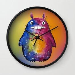 Cosmic Forest Sprite Neighbor Wall Clock