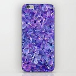 Lilac Petals iPhone Skin