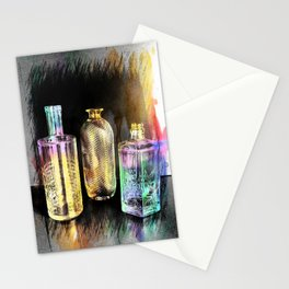 Empty Bottles Abstract Stationery Cards