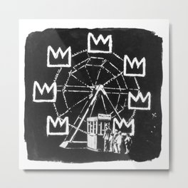 Basquiat Sign Metal Print