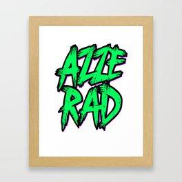 Azzerad Framed Art Print
