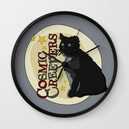 Cosmic Creepers Wall Clock