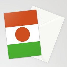 Niger flag emblem Stationery Cards