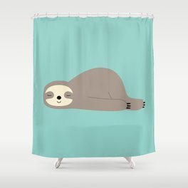 Do Nothing Shower Curtain