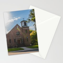 Holy Trinity Catholic Church, Fingal, North Dakota 3 Stationery Cards