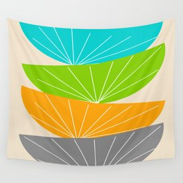 Mid-Century Modern Seed Pod Art Wall Tapestry