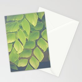Fern Abstract Stationery Cards