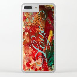 Love Elegantly Clear iPhone Case
