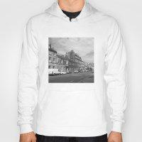 edinburgh Hoodies featuring Leith Edinburgh 1 by RMK Creative