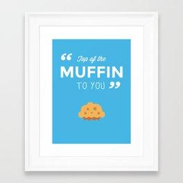 Seinfeld - Muffin Framed Art Print