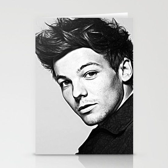 Louis Tomlinson Stationery Cards