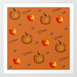 Fall Spice Art Print