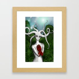 MoonBlood Framed Art Print