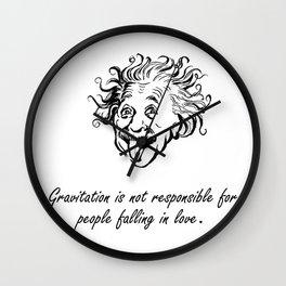 Albert Einstein q1 Wall Clock