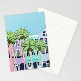 Rainbow Row Stationery Cards