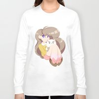 puppycat Long Sleeve T-shirts featuring 2 cute 2 poot by Artfully Elyse