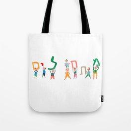 Let's Go! Hebrew Tote Bag