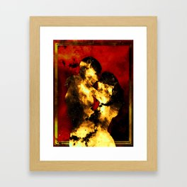 Flammis Amoris Framed Art Print