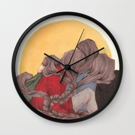 Braided Wall Clock