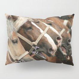 Heavy horses Pillow Sham