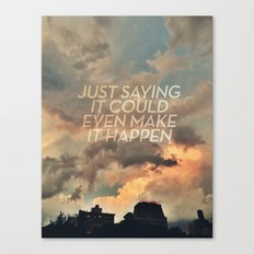 cloudbusting Canvas Print