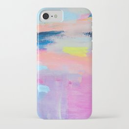Dreamy Abstract pink Art  iPhone Case