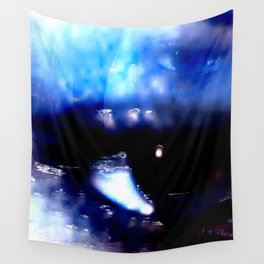 Blue Eyed Confusion Wall Tapestry