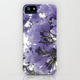 It's Raining Purple Cups iPhone Case