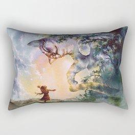 The first story Rectangular Pillow