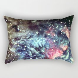 Galaxy Nebula Africa Rectangular Pillow