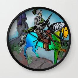 Unicorn Tamer Wall Clock