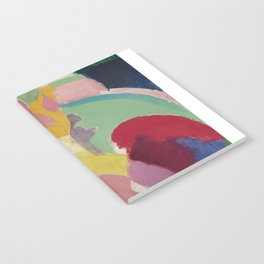 La Parisienne - Robert Delaunay - Art Poster Notebook