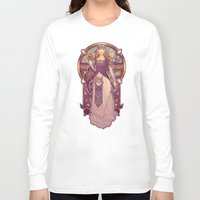 nouveau Long Sleeve T-shirts featuring Hylian Nouveau by Megan Lara