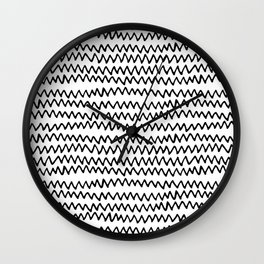 CAL CHEVRON Wall Clock