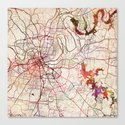 Nashville by mapmapmapswatercolors