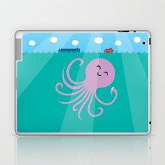 Octopus Selfie Laptop & iPad Skin