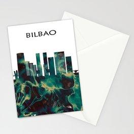 Bilbao Skyline Stationery Cards