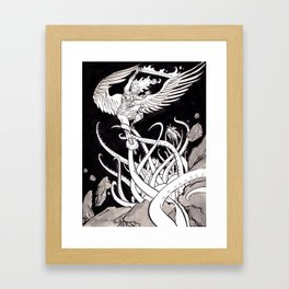 Eternal Struggle Framed Art Print