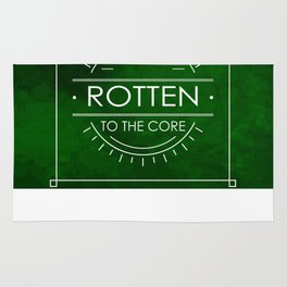 ROTTEN TO THE CORE Rug