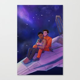 Let Me Play Among the Stars Canvas Print