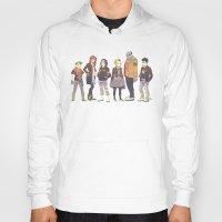 teen titans Hoodies featuring Teen Titans Streetwear by L. Tharp
