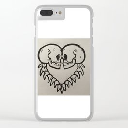 Skelleton Clear iPhone Case