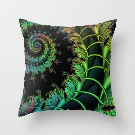 Expansion of Chaos Throw Pillow