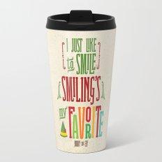 Buddy the Elf! Smiling's My Favorite! Travel Mug