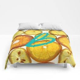 Citrus - Citron (Recettes du Bonheur) Comforters